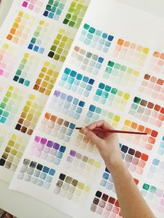 DIY: Color Study — Mon Voir DIY: Color Study — Mon Voir,Art-techniques/tips/cheat sheets COLOR! Isn't it so wonderful to look at? I could sit around and do these color studies all day…which is slightly. Watercolour Tutorials, Watercolor Techniques, Art Techniques, Watercolor Mixing, Watercolor Paintings, Watercolors, Watercolor Pallet, Color Mixing Chart, Color Charts