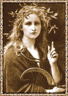 Brighid is the Daughter of the Dagda, one of the more universal deities of the pagan Gaelic world. She is known as the Goddess of Healers, Poets, Smiths, Childbirth and Inspiration; Goddess of Fire and Hearth and a patron of warfare.