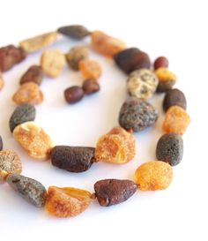 Healing Baltic amber necklace by Ambereli on Etsy