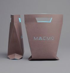 Shopping bag. Restaurant Maaemo Branding | Maaemo is an ecological gourmet restaurant in Oslo, Norway.