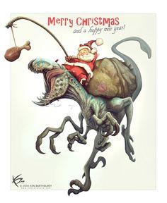 Merry Christmas! by KENBARTHELMEY on DeviantArt