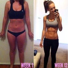 Bikini body guide, Kayla itsines and 12 weeks on Pinterest