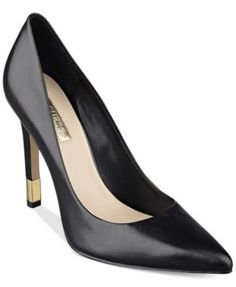 GUESS Women's Babbitta Pointed-Toe Pumps $49.50 The Babbitta pumps by GUESS are an effortless, classic addition to your shoe collection.