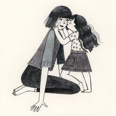 -Mamá y yo.