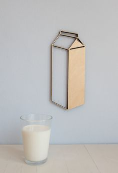 milk carton cutout by Motivschnitt