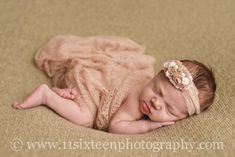 Whisper Knit Newborn Baby Wrap in Beige