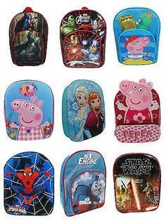 Boys #girls disney marvel character kids #school bag #childrens back pack rucksac,  View more on the LINK: 	http://www.zeppy.io/product/gb/2/131771434252/