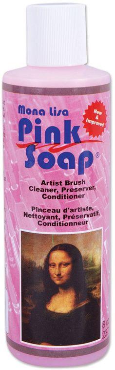 Mona Lisa Pink Soap - 8 Ounces
