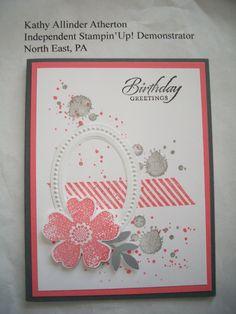 Kathy's April 2015 Stamp Camp - Card #4