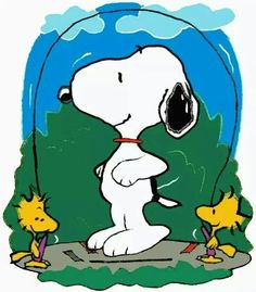 Welcome May - Snoopy, Woodstock and Friend Playing Jump Rope Peanuts Gang, Peanuts Cartoon, Snoopy Cartoon, Meu Amigo Charlie Brown, Charlie Brown Y Snoopy, Snoopy Und Woodstock, Charles Shultz, Hello Kitty Imagenes, Snoopy Quotes