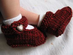 Ravelry: EviePants All in One Booties pattern by Marilyn Porter