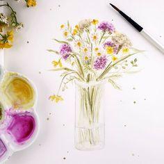 Botanical Art, Videos, Instagram, Art Print, Video Clip