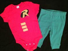 Baby/Toddler Robin Costume by JolteonMelCrafts on Etsy https://www.etsy.com/listing/260292725/babytoddler-robin-costume