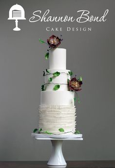 Midsummer's Night Dream Wedding Cake - Cake by Shannon Bond Cake Design