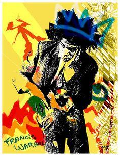 Basquiat Jean Michel Basquiat, Funny Stuff, Cool Stuff, Love Art, Modern Art, Zen, Artsy, Palette, Portraits