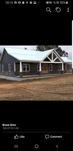 Barn Homes Floor Plans, Barn House Plans, New House Plans, Dream House Plans, House Floor Plans, Metal Building House Plans, Architectural Design House Plans, Pole Barn Homes, Modern Farmhouse Plans