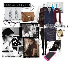 """""""Cosima"""" by hellocosmonaut ❤ liked on Polyvore featuring SELECTED, Lab, Pull&Bear, Accessorize, Ray-Ban, Leon & Harper, BCBGMAXAZRIA, Vince Camuto, Rachel Zoe and Armitage Avenue"""