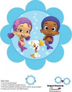{Free} Printable Bubble Guppies Wall Decor 4