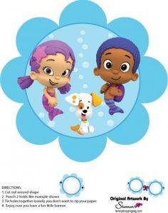 {Free} Printable Bubble Guppies Wall Decor 4