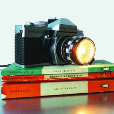 These Unique Cameras Are Turned Into Fantastic Table Lamps