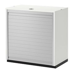 GALANT Roll-front cabinet - white - IKEA    $349
