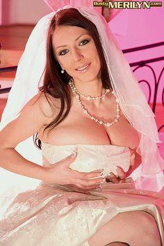 Merilyn Sakova Wiki wedding dress | Busty Bride Dress Off - Sex Porn Images