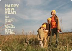Happy New Years Photo Cards by Paper Culture