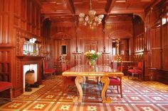 Newhall Mansion-Dining Hall