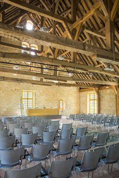 Atypique et exceptionnelle, la salle des charpentes. © Jérôme Galland #Royaumont #abbaye #événement #event #séminaire
