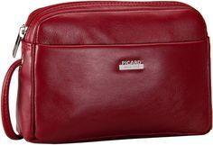 Picard Really Tasche Rot (innen: Beige) - Abendtasche   Clutch