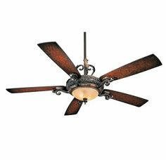 "Love the curves, hate the price, so-so on the lifht fixture.MinkaAire F705-STW Sterling Walnut 5 Blade 56"" Ceiling Fan - Light, Wall Control and Blades Included $439.95"