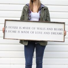 farmhouse signs, rustic signs, fixer upper style, home decor, rustic decor, inspiring quotes, wood sign sayings, magnolia market, rustic signs, boho, boho style, eclectic living, living room inspiration