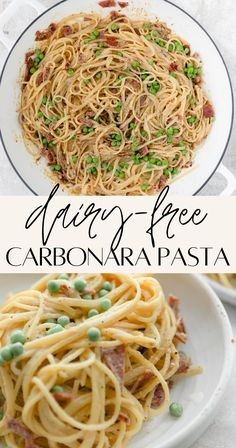 Dairy Free Recipes For Kids, Dairy Free Recipes Pasta, Dairy Free Italian Recipes, Dairy Free Dinners, Quick Pasta Recipes, Quick Meals, Dairy Free Recipes Healthy, Healthy Dinners, Kitchens