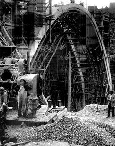 Madrid: Construcción del viaducto actual