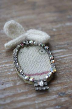 'Snow Drop' cameo brooch: Julie Arkell