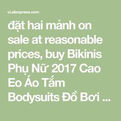đặt hai mảnh on sale at reasonable prices, buy Bikinis Phụ Nữ 2017 Cao Eo Áo Tắm Bodysuits Đồ Bơi Ruffle In Tắm Suits Bãi Biển Mang Hai Mảnh Tankini Set Floral from mobile site on Aliexpress Now!