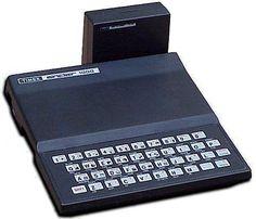 Timex Sinclair 1000. Com emulador para jogar jogos do Spectrum. Era o máximo
