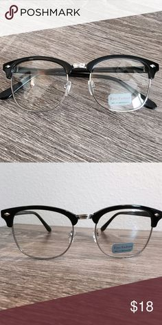 20600a7d1c4 Silver Retro Clear Glasses •Silver Retro Fashionable Glasses •Brand is NOT RAY  BAN •Vintage look •Price is FIRM •No Trades •Save 10% off with 3 Bundle ...