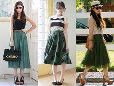saias verdes