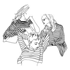 Seeing stripes ❤ liked on Polyvore featuring fillers, backgrounds, drawings, art, people, text, phrase, quotes and saying