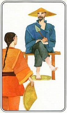 Carta de Tarot de Osho: Reconocimiento