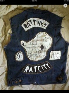 #ugurbilgin #UniTED Riders of Turkey | Ratfink Ratcity MC vest