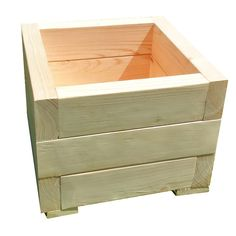 Cool Wood Projects, Diy Pallet Projects, Woodworking Projects, Garden Design, House Design, Diy Planters, Hope Chest, Outdoor Furniture, Outdoor Decor