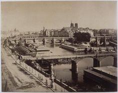 Gustave Le Gray | Panorama de Paris, vers le Pont-Neuf | Images d'Art