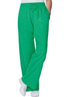 Woman Within Women`s Plus Size Sport Knit Drawstring Elastic Waist Sweat Pants for only $20.58 You save: $14.19 (41%)