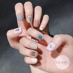 natural summer pink nails design for short square nails 49 Pedicure Nail Art, Pedicure Designs, Manicure And Pedicure, Nail Designs, Nail Nail, Minimalist Nails, Nail Swag, Pretty Nail Colors, Pretty Nails