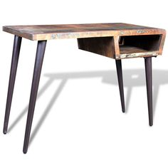 The table top is made from reclaimed wood, which means that every piece of furniture is unique and slightly different from each other. The furniture made from reclaimed wood has characteristics of different wood, like teakwood, sheesham wood, acacia, mango wood, saal wood, etc. | eBay!