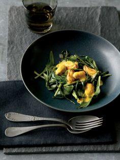 Dag oliebollen, hallo goede voornemens: 23 gezonde salades   Zeegroentesalade met mosselen   ELLE Eten