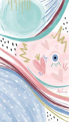 Eyes Wallpaper, Pop Art Wallpaper, Flower Background Wallpaper, Flower Phone Wallpaper, Aesthetic Pastel Wallpaper, Wallpaper Iphone Cute, Pattern Wallpaper, Aesthetic Wallpapers, Cute Backgrounds