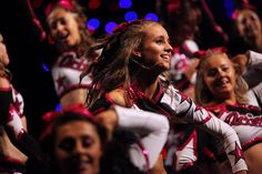 Girls from RSD Action perform at the BCA International Cheerleading Championships